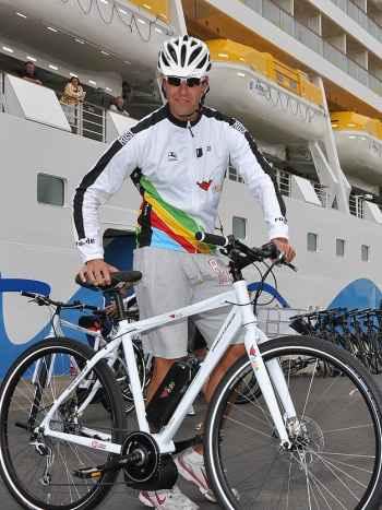 Bicicletas eléctricas para los pasajeros de cruceros  AIDA AIDA-pedelecs