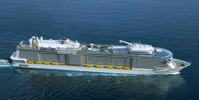 Anthem of the Seas tendrá como puerto base Southampton
