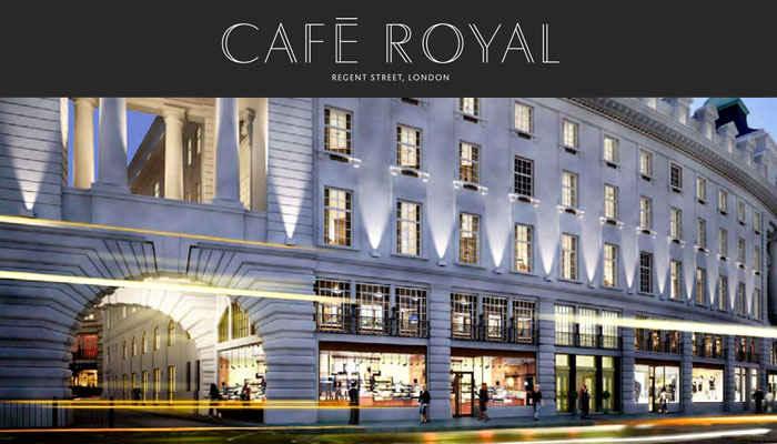 el caf royal hotel de londres se estrena en diciembre 2012. Black Bedroom Furniture Sets. Home Design Ideas