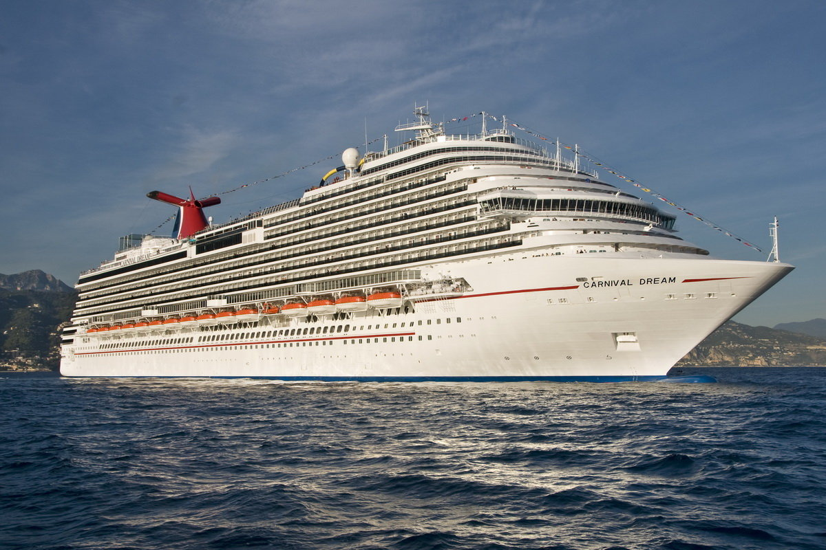 Carnival-Dream navegando