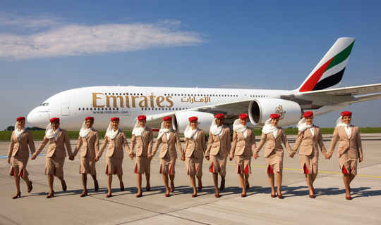 Emirates recibe 2 premios en los World Travel Awards