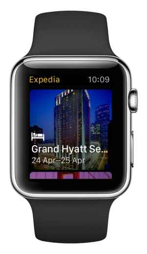 Expedia presenta la App para Apple Watch