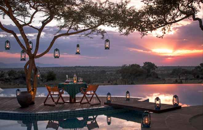 Safaris de vinos africanos en el Four Seasons Safari Lodge Serengeti