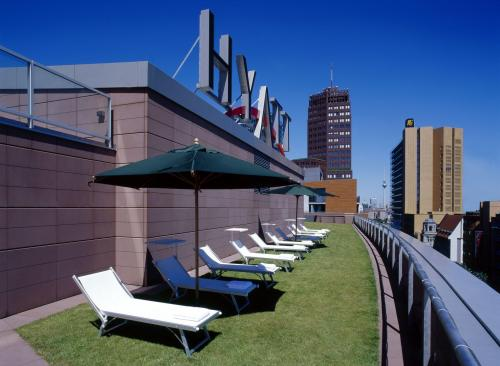 Grand Hyatt Berlin - zona solarium