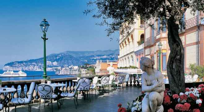 Grand hotel excelsior vittoria celebra 180 a os de romance for Terrazza vittoria sorrento