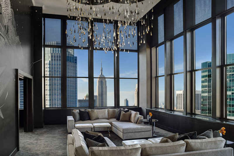 Martin Katz inaugura la Jewel Suite del New York Palace Hotel