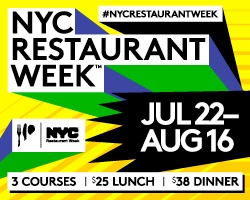 Nueva York abre reservas para la New York Restaurant Week