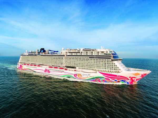 NCL recibe al Norwegian Joy, el primer crucero destinado a China
