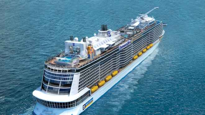Ovation of the Seas, el nuevo buque de Royal Caribbean