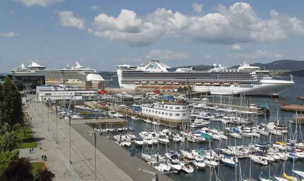 Puerto de vigo recibir 5 cruceros y m s de cruceristas - Puerto de vigo cruceros ...
