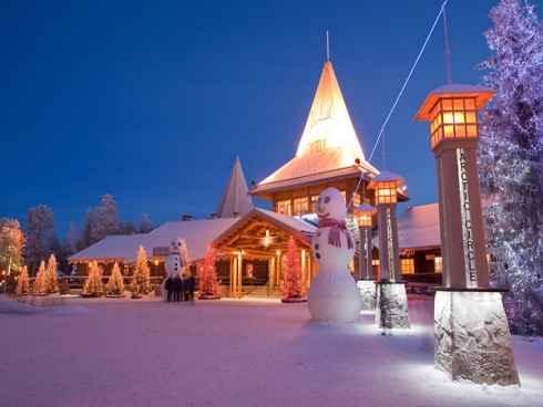 Rovaniemi la capital de laponia en finlandia en el c rculo polar rtico - La casa de papa noel alicante ...