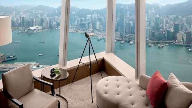 Cinco estrellas por Forbes para el Hotel The Ritz- Carlton, Hong Kong