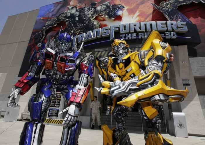 Transformers 3D The Ride  llega a Universal Orlando Resort
