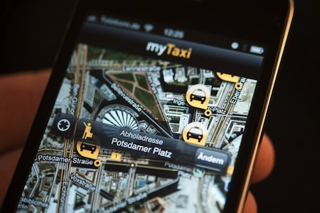 myTaxi presenta su app disponible en iOs y Android